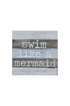 Shoptiques Product: Mermaid Wall Sign