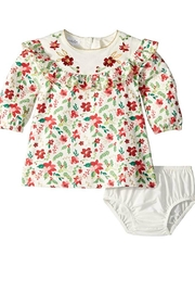 Mud Pie Merry Floral Dress - Front cropped