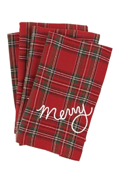 Mud Pie Merry Napkin Set - Alternate List Image