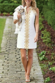 Mud Pie Mia Embroidered Dress - Front cropped