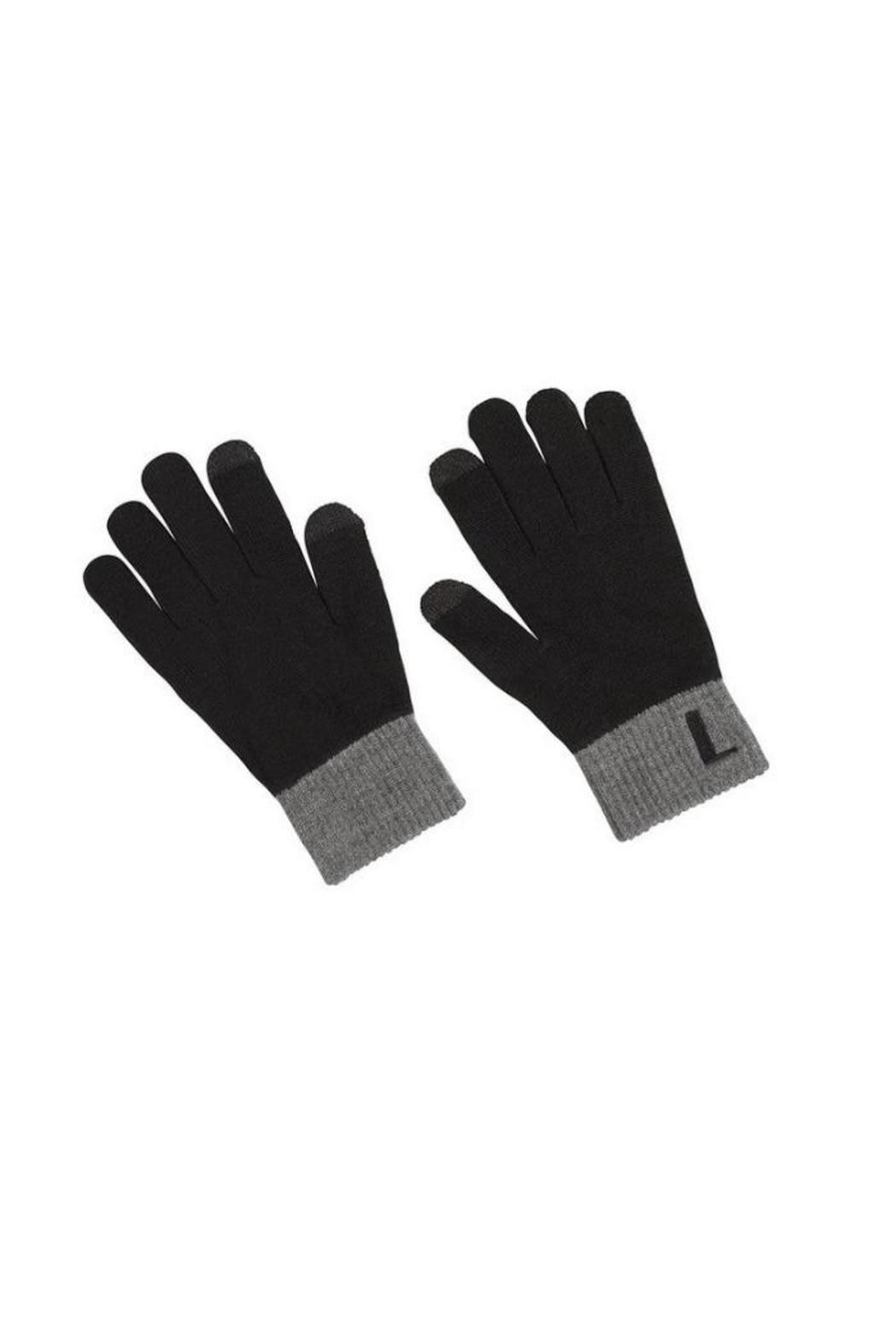 Mud Pie Monogram Texting Gloves - Front Cropped Image