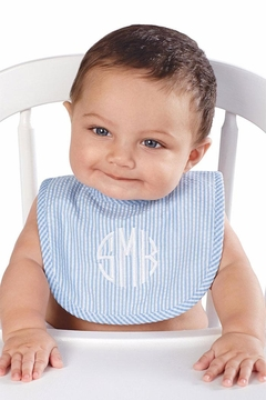 Shoptiques Product: Monogrammed Boy Bib