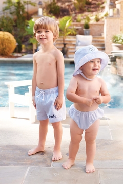 Shoptiques Product: Monogrammed Boys Swimsuit