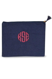 Mud Pie Monogrammed Carry All - Front cropped