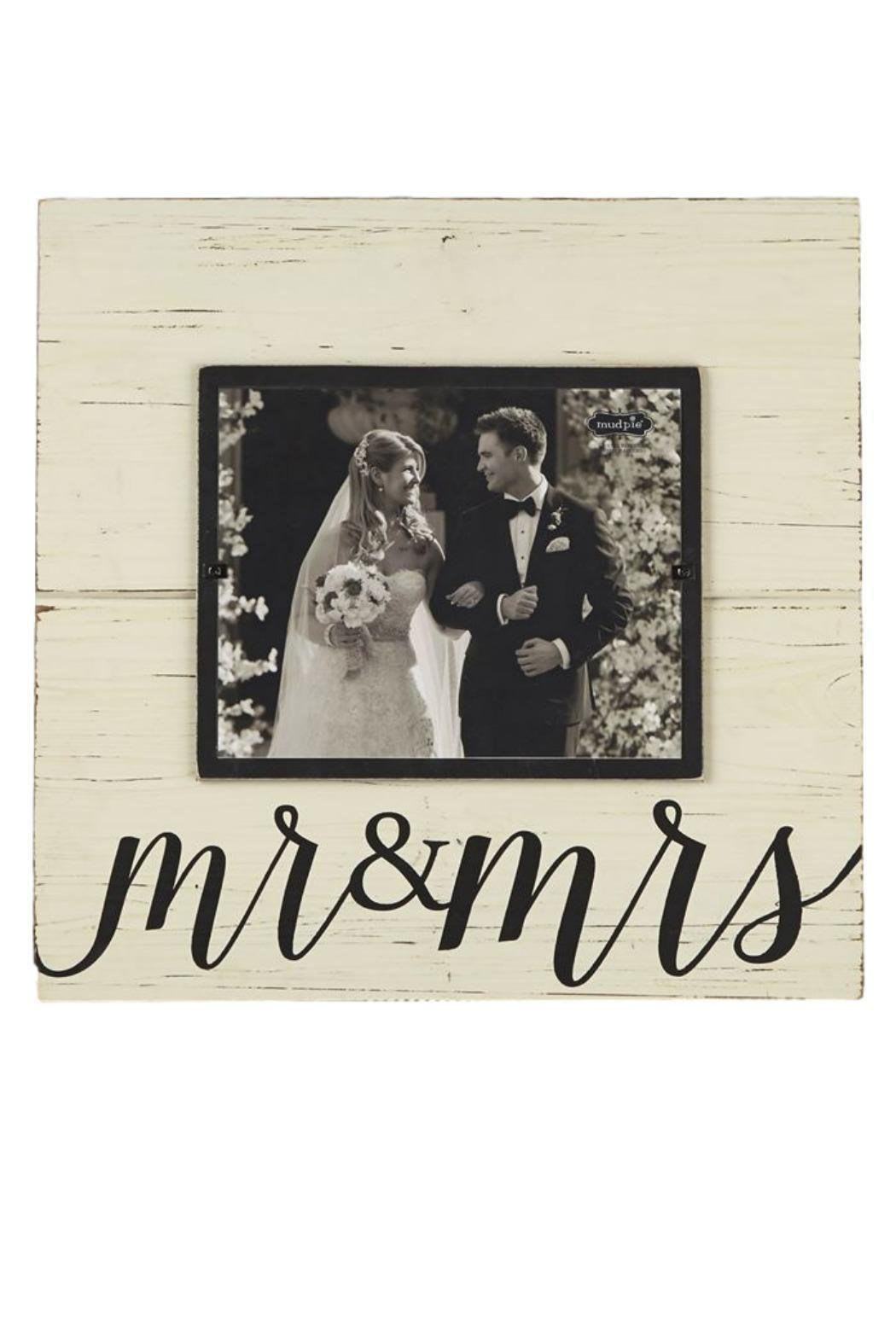 Mud Pie Mr & Mrs Frame from Portland by Pulp & Circumstance — Shoptiques