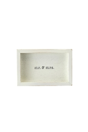 Mud Pie Couple Love Plaque - Product Mini Image