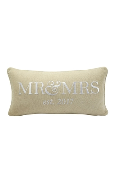 Shoptiques Product: Mr. & Mrs. Pillow