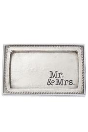 Mud Pie Mr. & Mrs. Tray - Product Mini Image