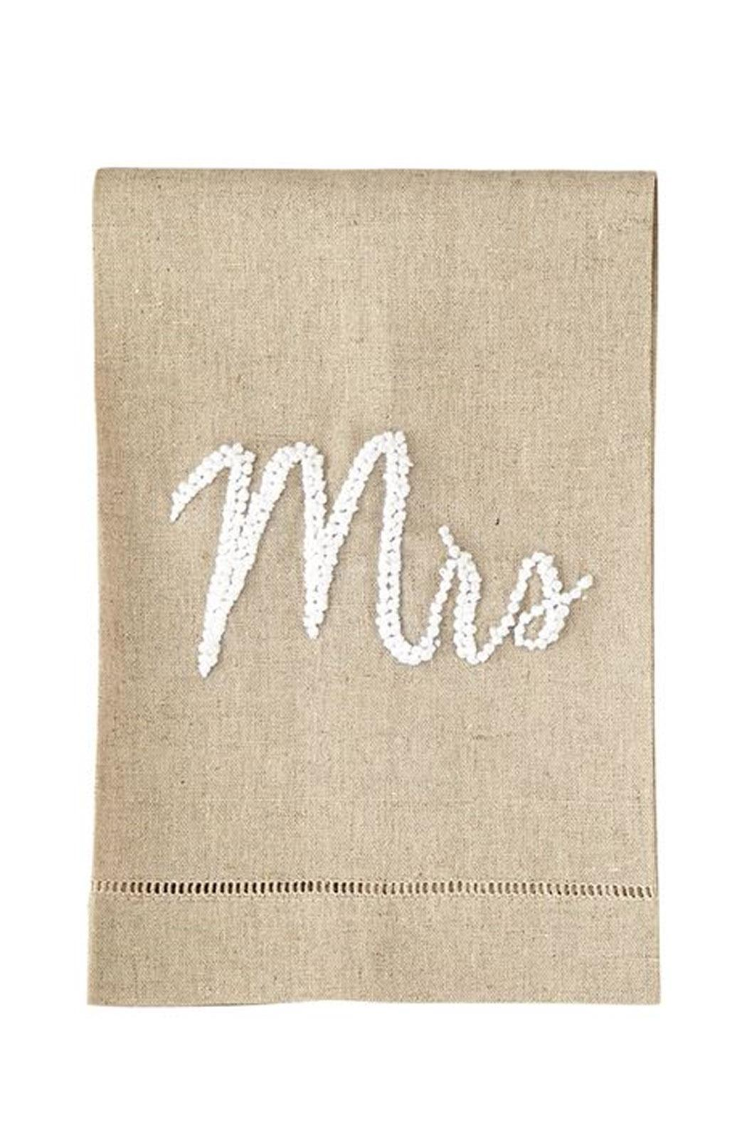 Mud Pie Mrs. Dish Towel - Front Cropped Image