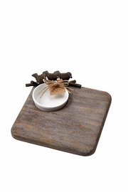 Mud Pie Nest Serving Dish - Front cropped