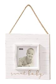Mud Pie Neutral Baby Frame - Product Mini Image