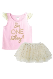 Mud Pie One Birthday Tutu-Set - Product Mini Image