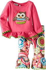 Mud Pie Owl Pant Set - Product Mini Image