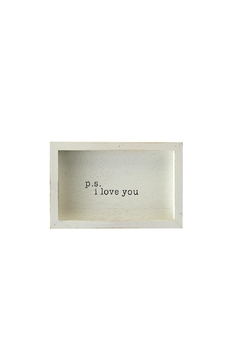 Shoptiques Product: P.S. Love Plaque