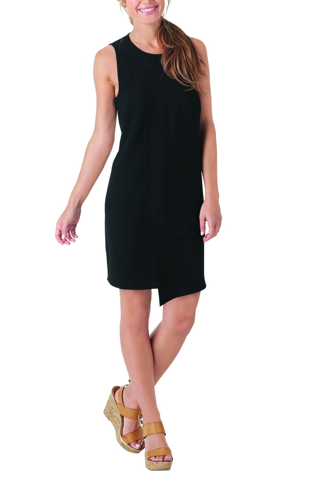 Mud Pie Panel Shift Dress - Front Cropped Image
