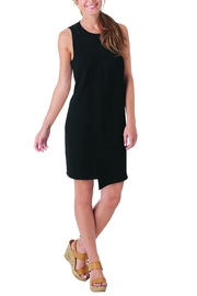 Mud Pie Panel Shift Dress - Front cropped
