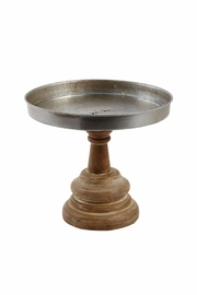 Mud Pie Pedestal Cake Stand - Product Mini Image