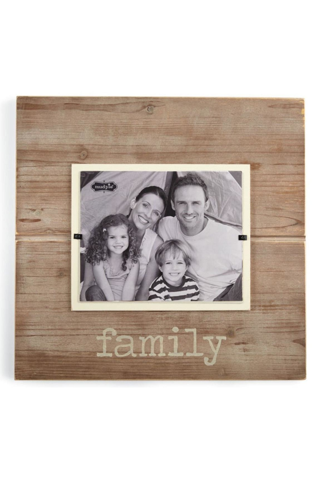Mud Pie Pine Family Frame - Main Image