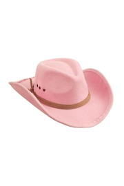 Mud Pie Pink Cowgirl Hat - Product Mini Image