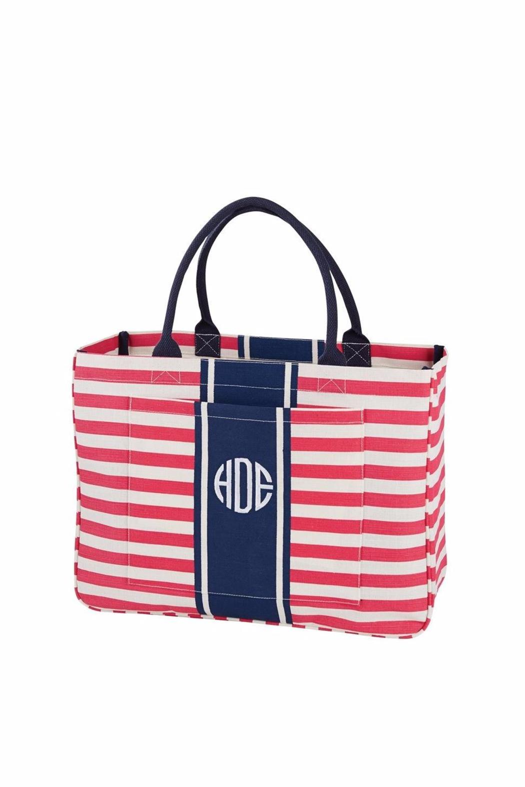 Mud Pie Pink Daytripper Tote - Main Image