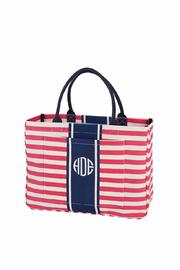 Mud Pie Pink Daytripper Tote - Product Mini Image