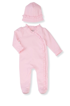 Shoptiques Product: Pink Ruffle Set