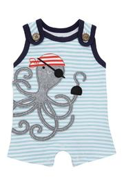 Mud Pie Pirate Octopus Romper - Product Mini Image