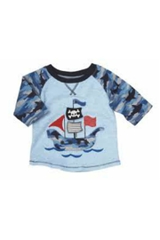 Mud Pie Pirate Ship Tee - Front cropped