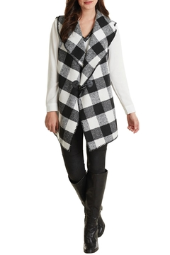 Shoptiques Product: Plaid Blanket Vest