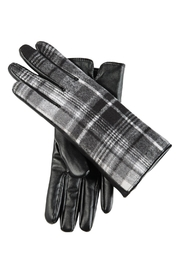 Mud Pie Plaid Smart Screen Gloves - Product Mini Image