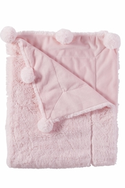 Mud Pie Pom-Pom Blanket - Product Mini Image