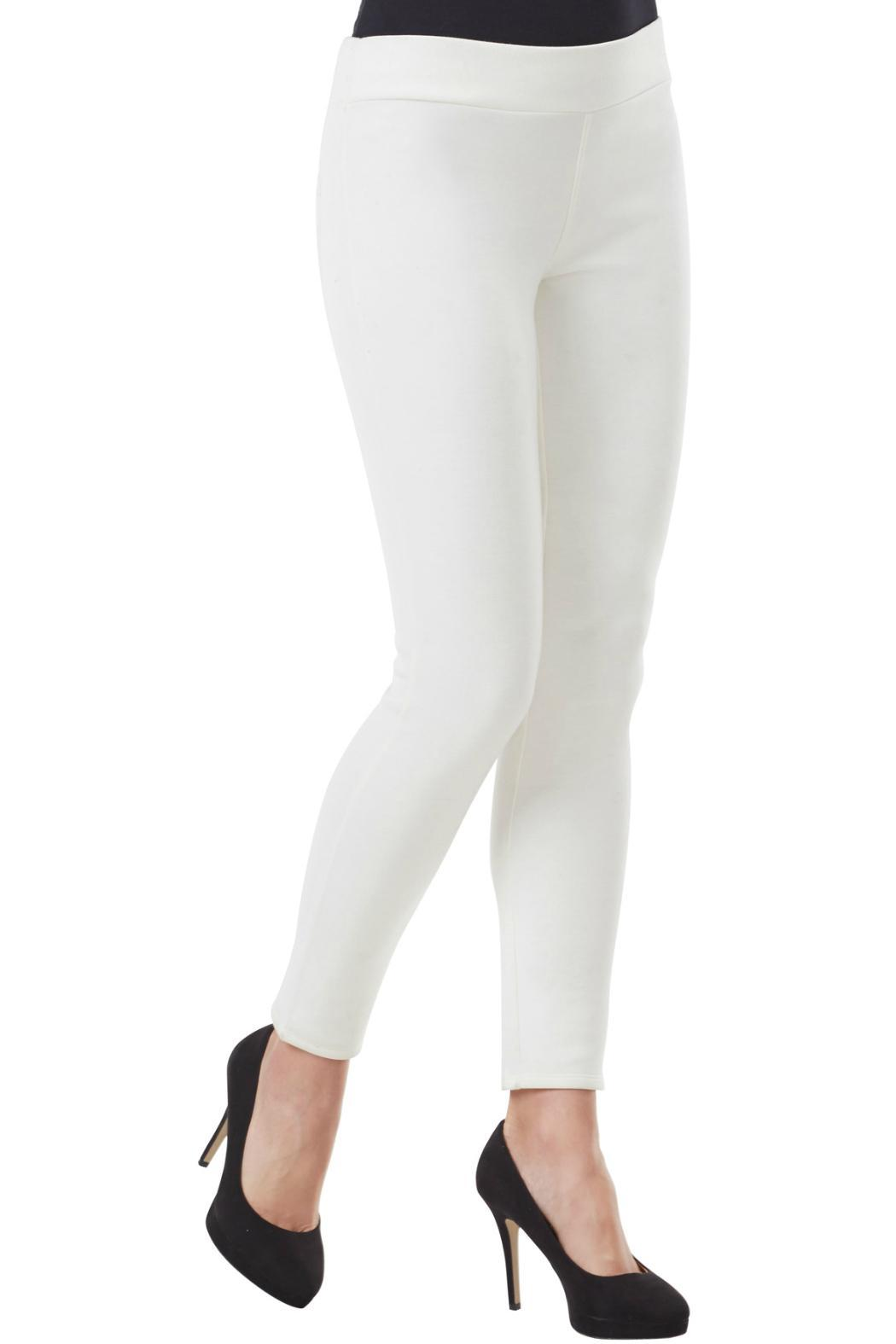 Mud Pie Ponte Knit Leggings - Front Cropped Image