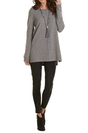 Mud Pie Popcorn Tunic Sweater - Front cropped