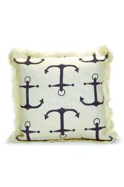 Mud Pie Printed Nautical Pillow - Product Mini Image