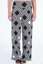 Mud Pie Printed Palazzo Pants - Product Mini Image