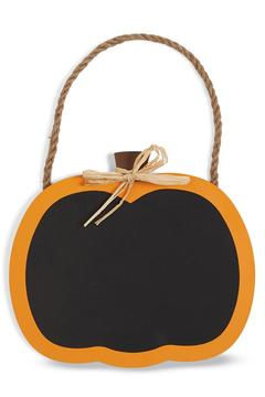 Shoptiques Product: Pumpkin Chalkboard Sign