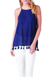 Mud Pie Racerback Tassel Top - Product Mini Image