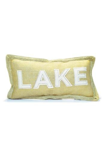 Mud Pie Rectangle Lake Pillow From Kentucky By Avenue 550