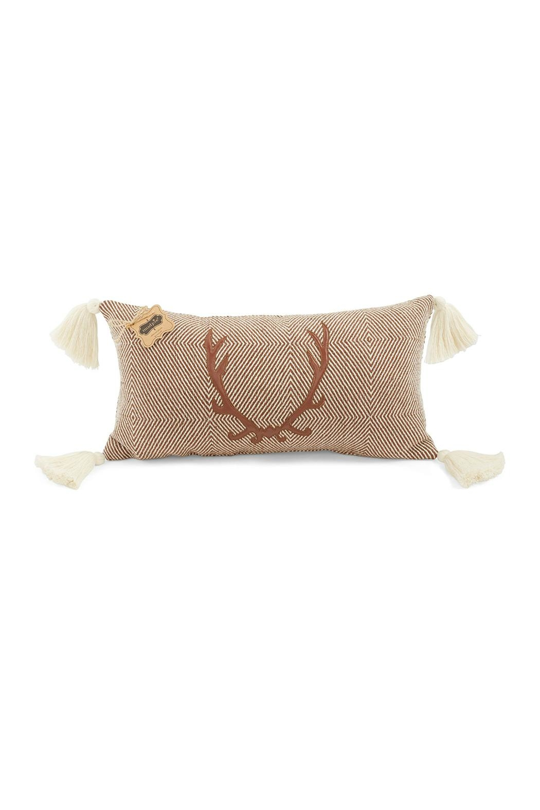 Mud Pie Rectangle Stag Pillow - Main Image