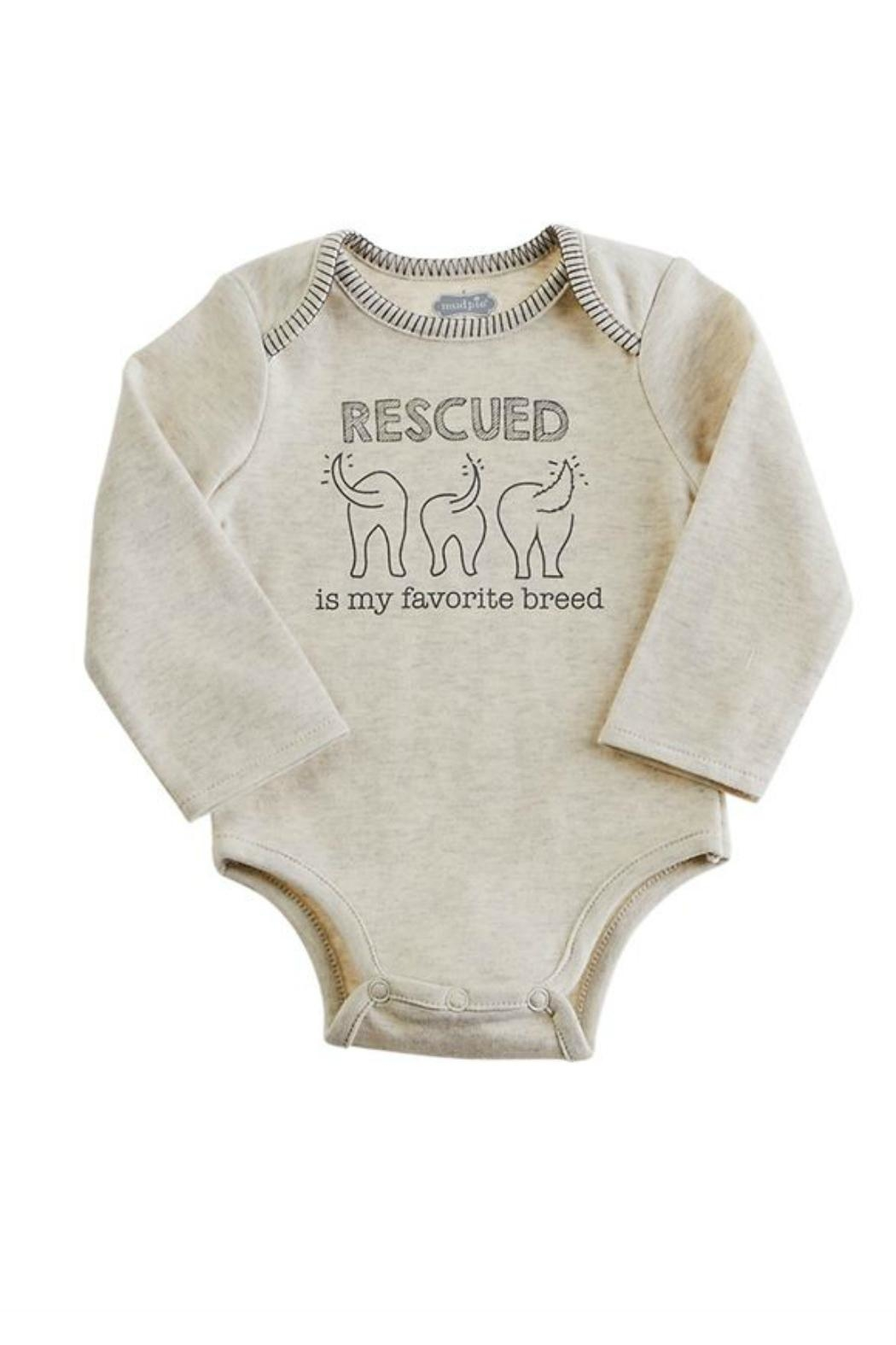 Mud Pie Rescued Cotton Onsie - Main Image