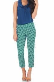 Mud Pie Sabrea Cropped Pant - Front cropped