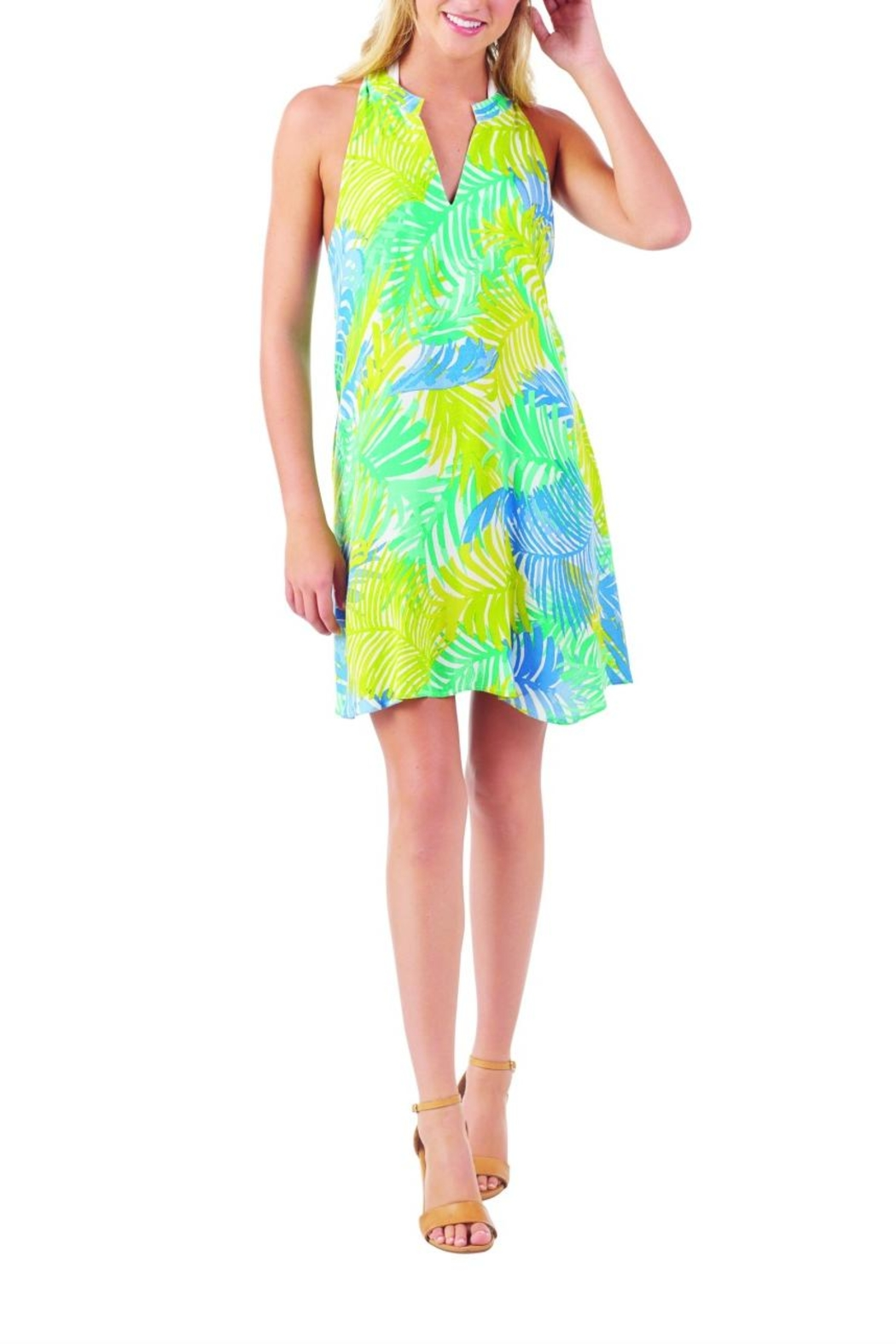 Mud Pie Sage Swing Cover-Up - Side Cropped Image
