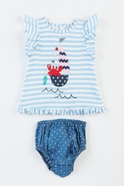 Mud Pie Sailboat Pinafore Bloomers - Product Mini Image