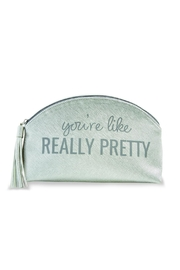 Mud Pie Sentiment Make-Up Case - Product Mini Image