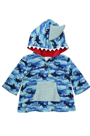 Mud Pie Shark Cover Up - Front cropped