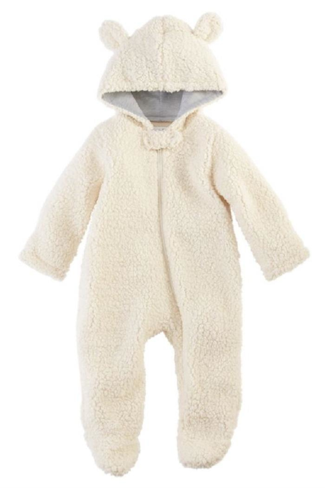 Mud Pie Sherpa Bear Bunting Suit - Main Image