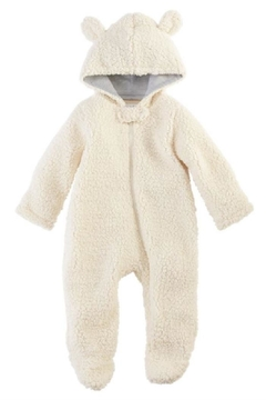 Mud Pie Sherpa Bear Bunting Suit - Alternate List Image