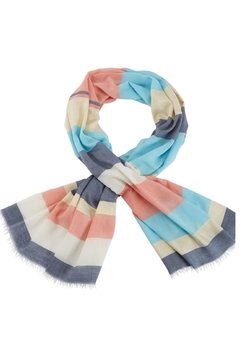 Shoptiques Product: Shimmer Striped Scarf