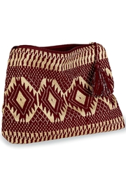 Mud Pie Shimmery Jacquard Clutch - Product Mini Image