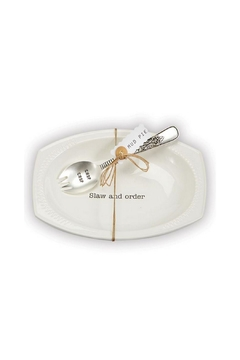 Mud Pie Slaw Serving Set - Alternate List Image